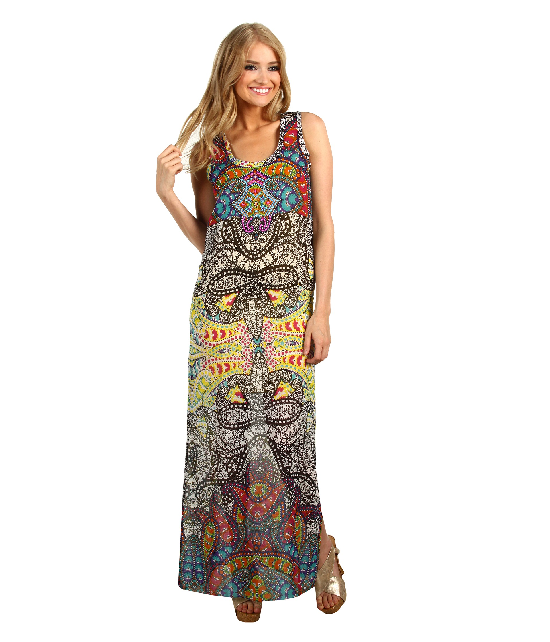Nicole Miller Fruition Maxi Dress $131.99 (  MSRP $440.00)