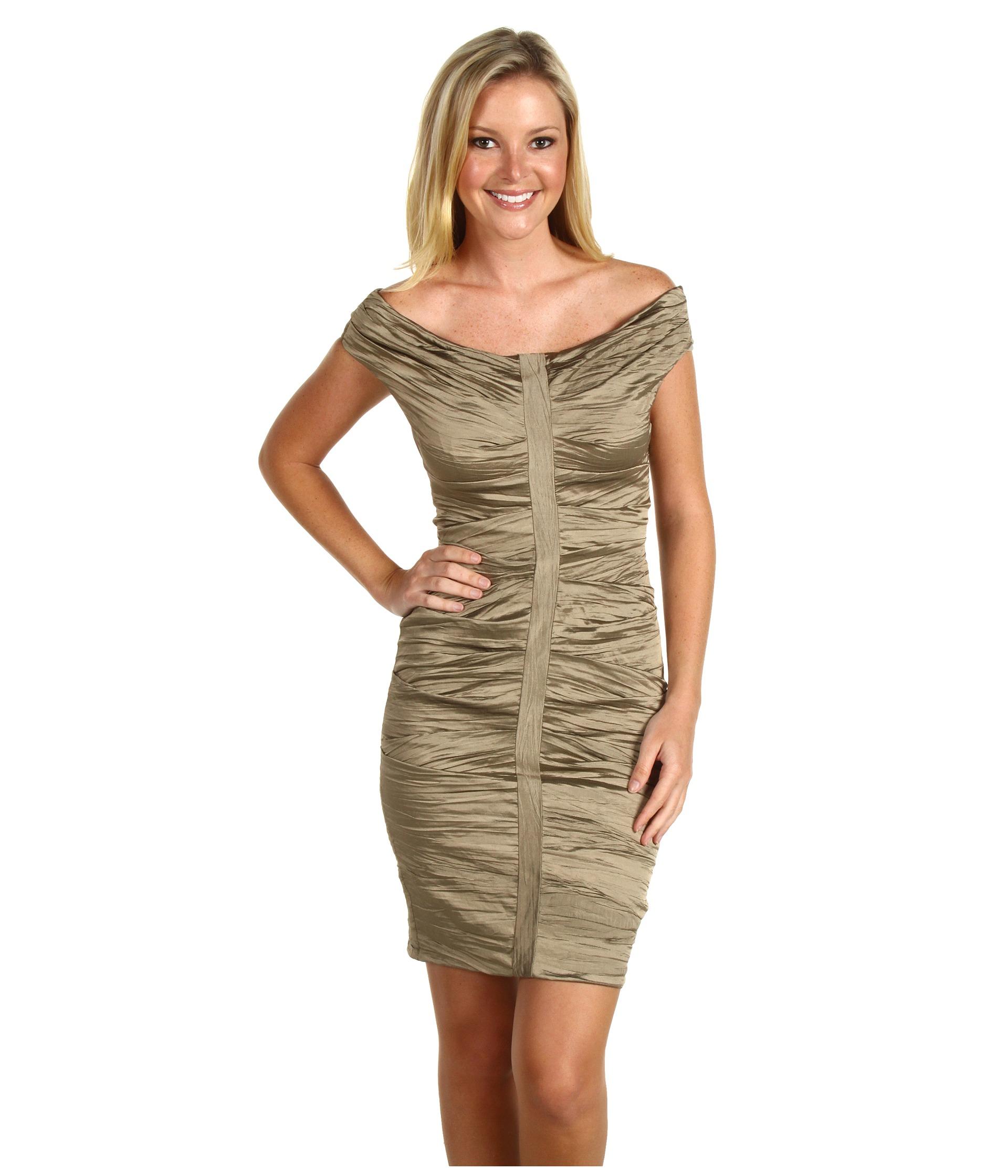 Nicole Miller Pleated Metal Dress $142.50 (  MSRP $475.00)