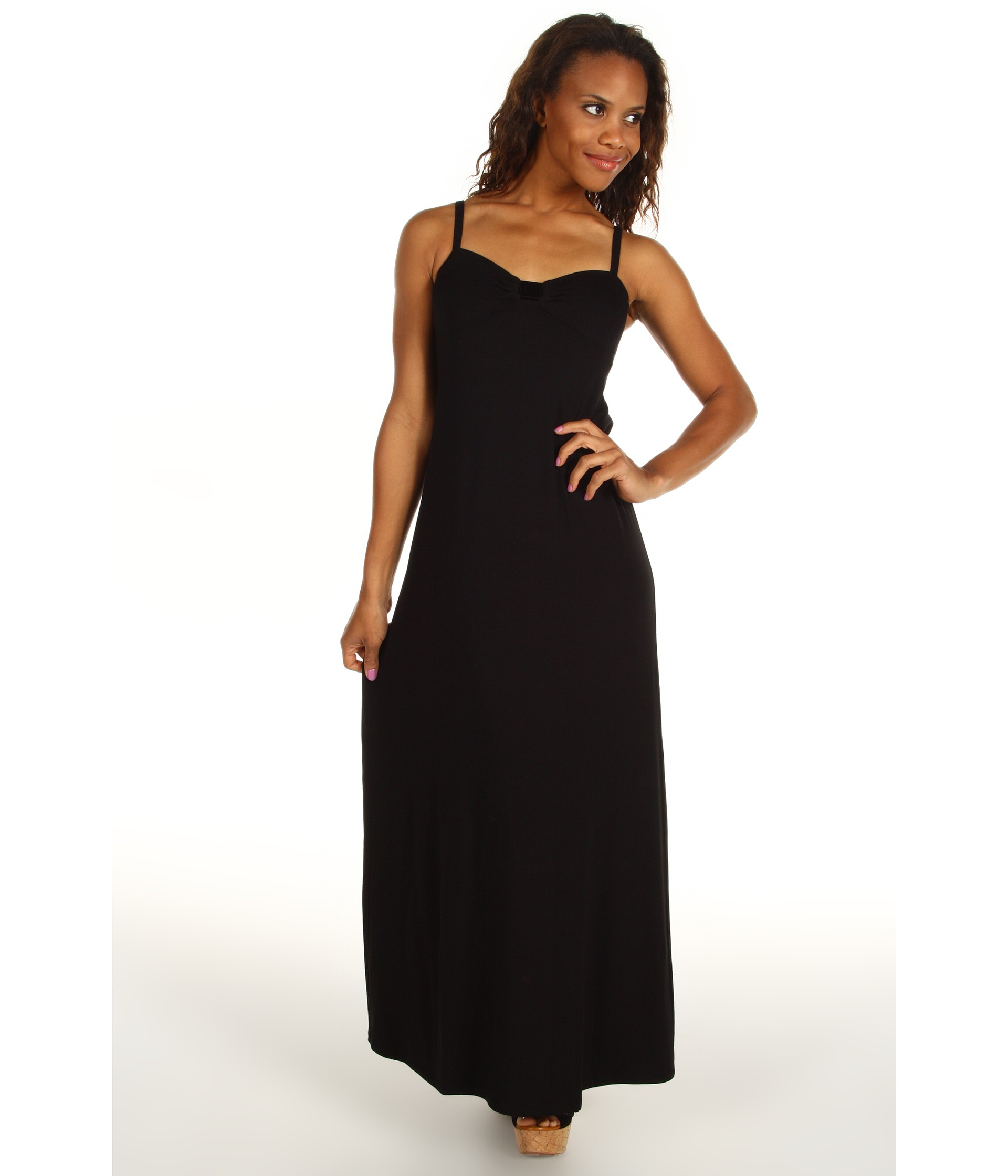 Tommy Bahama Tambour Classic Long Dress $94.99 $158.00