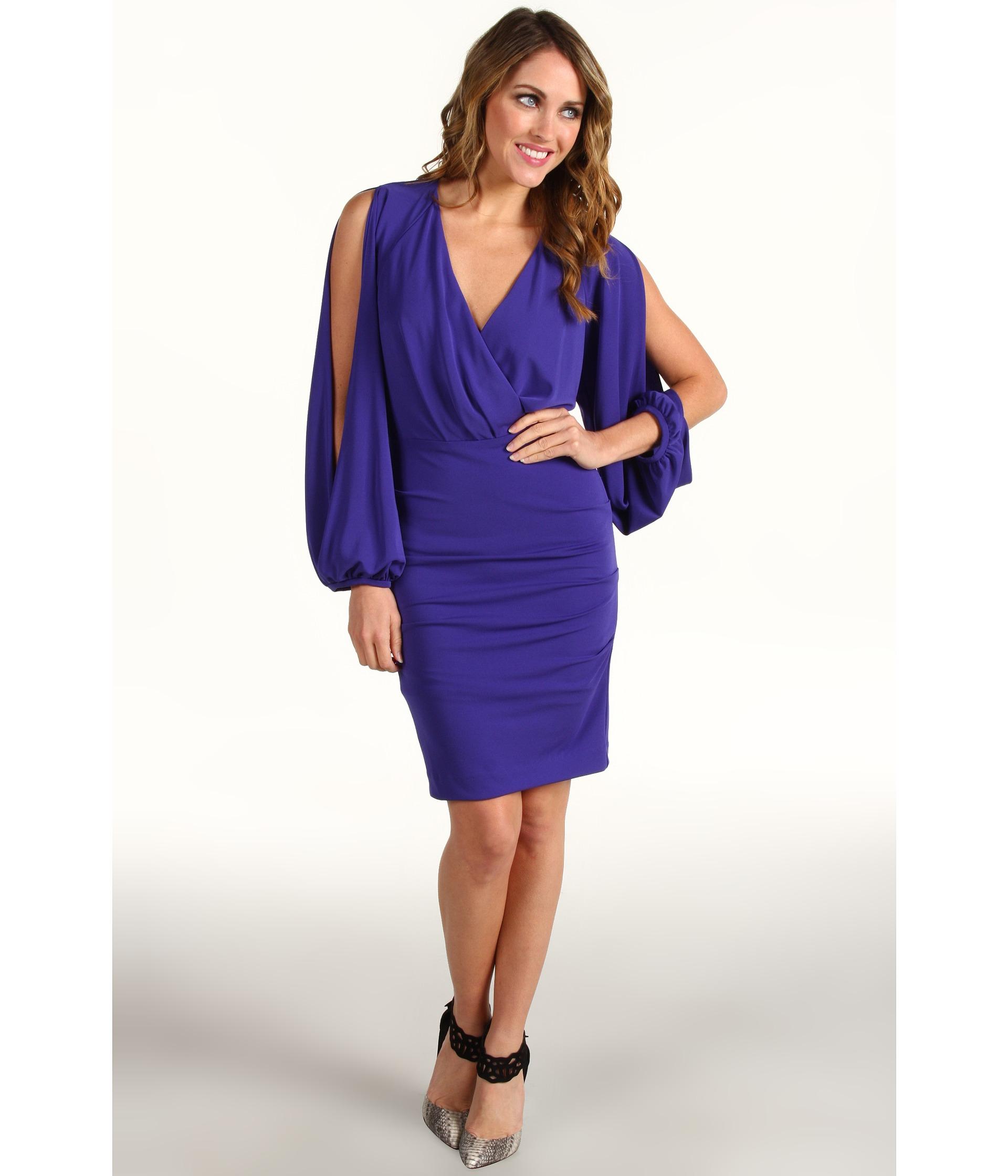 Nicole Miller Stretch Split Sleeve Dress $199.99 $355.00 SALE