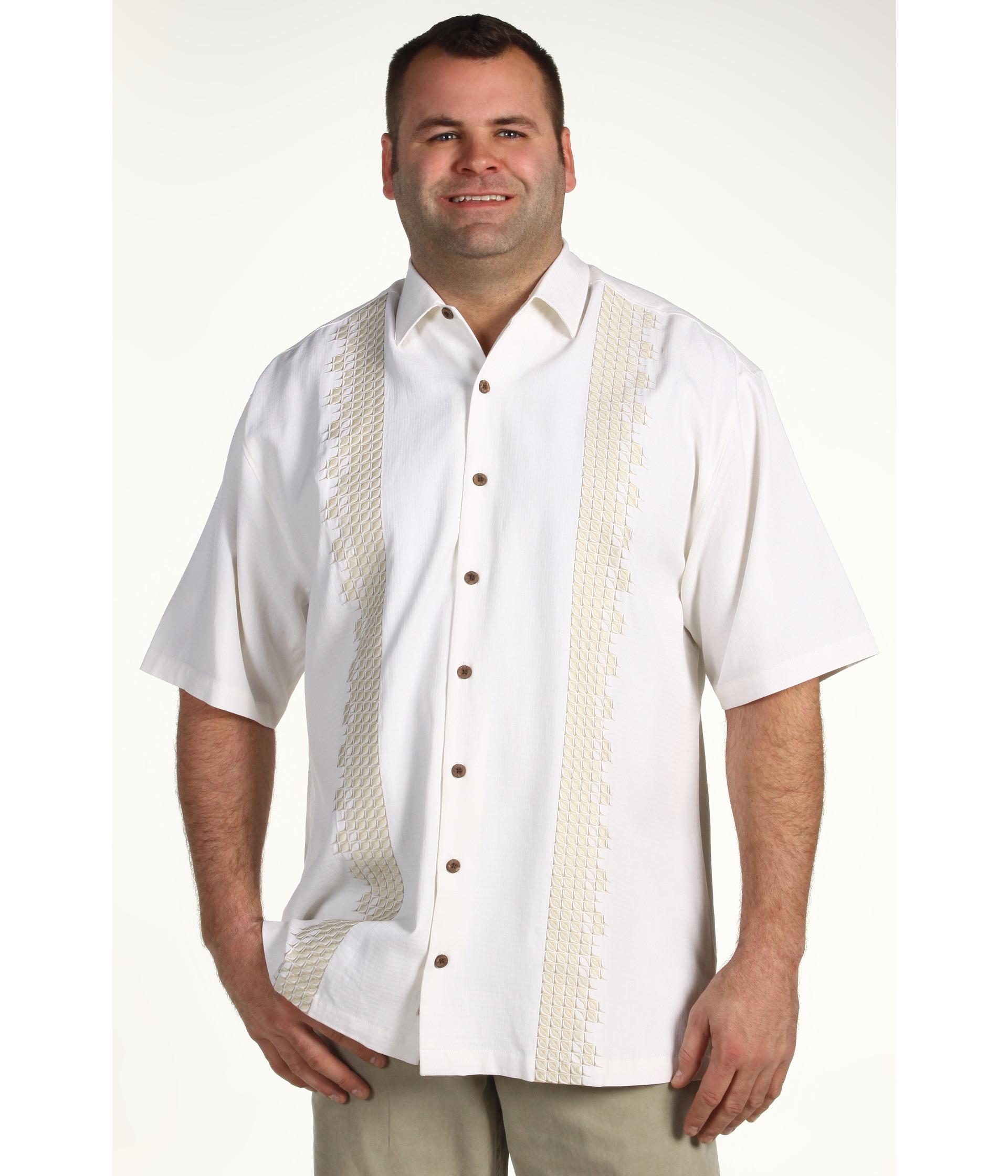 Tommy Bahama Big & Tall   Big & Tall Sand Deco S/S Camp Shirt