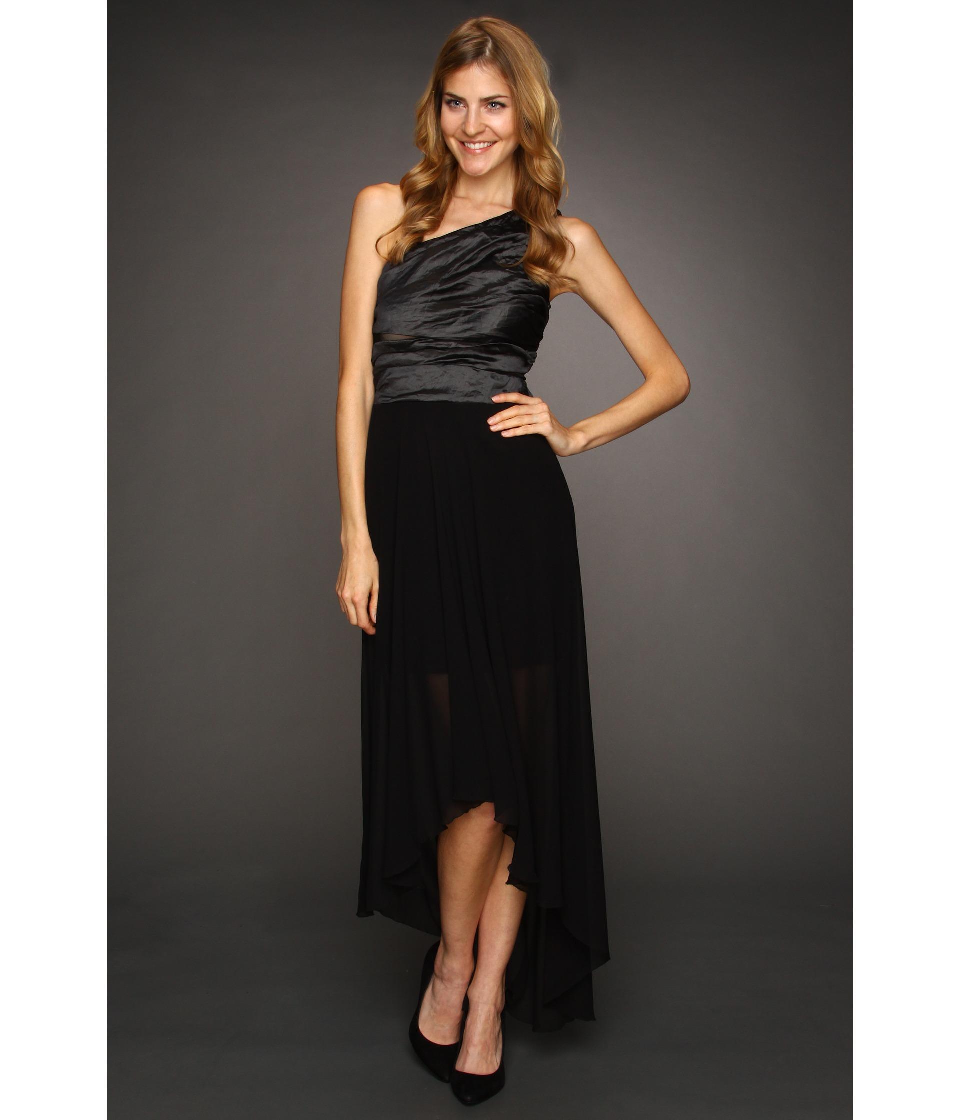 Nicole Miller Techno Metal One Shoulder Gown $525.99 $585.00 SALE